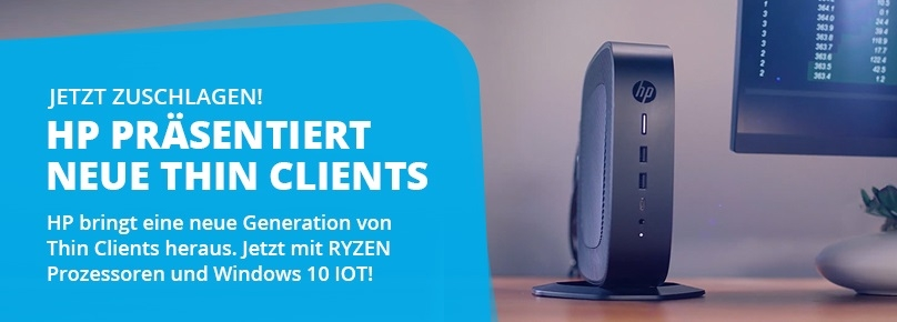 Neue HP Thin Clients