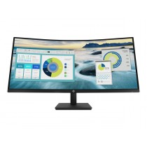 "HP P34hc G4 - P-Series - LED-Monitor - gebogen - 86.36 cm (34"")"