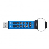 Kingston DataTraveler 2000 4GB USB-Stick USB Typ-A 3.0 (3.1 Gen 1) Blau