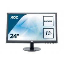 "AOC Value e2460Sh - LED-Monitor - 61 cm (24"")"