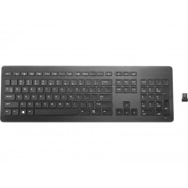 HP Wireless Premium Tastatur - Aluminium