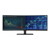 "Lenovo ThinkVision P44w-10 - LED-Monitor - gebogen - 110.2 cm (43.4"")"