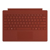 Microsoft Surface Pro Signature Type Cover - Tastatur - Poppy Red