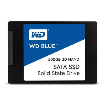 """WD Blue 3D Solid State Drive (SSD) 2.5"""" 500 GB Serial ATA III"""